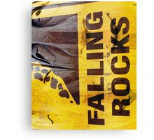 Falling in love rocks Canvas Print