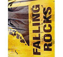 Falling in love rocks Photographic Print