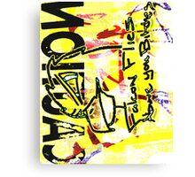 Falcon flies above you Canvas Print