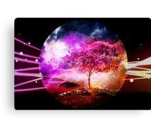 Space World Canvas Print