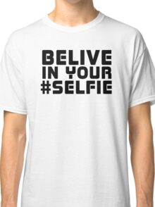 Facebook Funny Popular Selfie Internet Joke T-Shirt  Classic T-Shirt