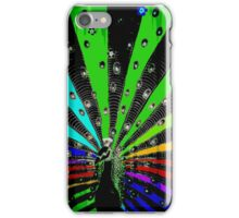Neon Peacock iPhone Case/Skin