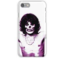 THE MISFITS JIM MORRISON Mash Up (Original/ White) iPhone Case/Skin