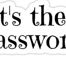 Wifi Internet Facebook Twitter Password Cool T-Shirts Sticker