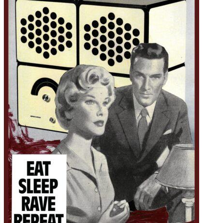 Eat Sleep Sticker
