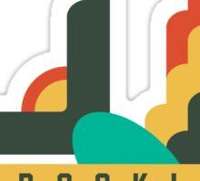 FLAT DESIGN SWALLOW - BROOKLYN Sticker