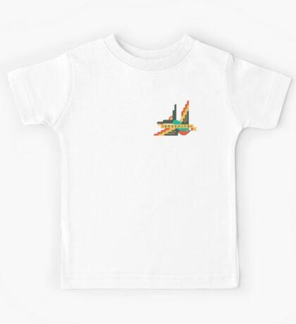 FLAT DESIGN SWALLOW - BROOKLYN Kids Tee