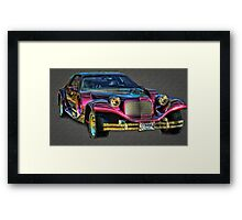 One Cool Exotic Car! Framed Print