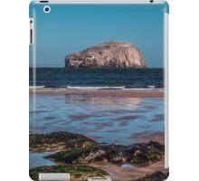 Bass Rock from Seacliff Beach iPad Case/Skin
