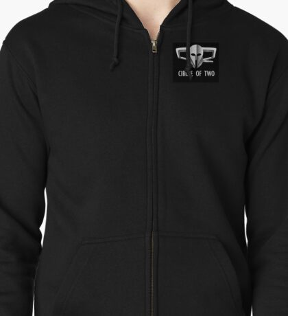 Circle-of-Two EVE Online alliance logo Zipped Hoodie