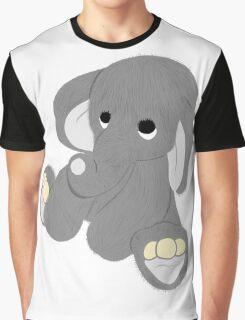 Stuffed Elephant Graphic T-Shirt