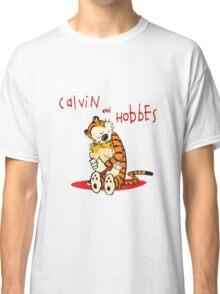 Calvin and Hobbes Big Hugs Classic T-Shirt