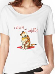 Calvin and Hobbes Big Hugs Women's Relaxed Fit T-Shirt
