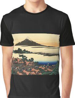 'Dawn at Isawa in the Kai Province' by Katsushika Hokusai (Reproduction) Graphic T-Shirt