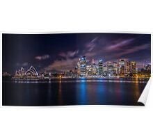 Calm Sydney Harbour Poster