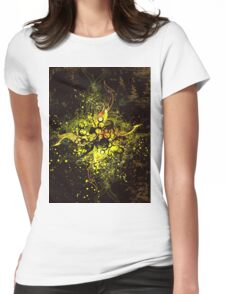 vector sun Womens Fitted T-Shirt