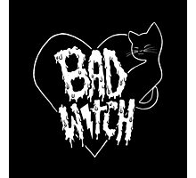 Bad witch Photographic Print