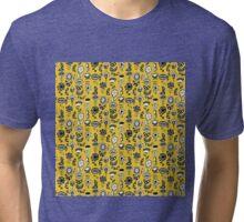 Flower Daisy Doodles Tri-blend T-Shirt