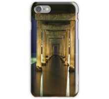 Brighton Jetty on a winters night iPhone Case/Skin