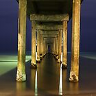 Brighton Jetty on a winters night by BBCsImagery