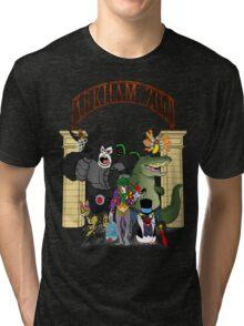 Arkham Asylum Zoo Tri-blend T-Shirt