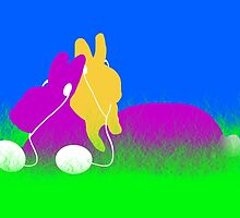 Easter Ear Buds  by Gravityx9