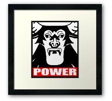 Tirek Power Framed Print