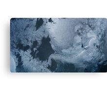 Glacial Patterns Canvas Print