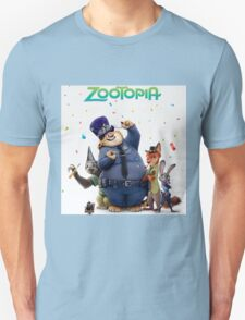 zootopia 3D animation movie T-Shirt