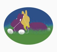 Easter Ear Buds  Kids Tee