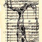 Handel Water Music Tree #2 by Rebecca Rees