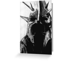 Witchking Greeting Card