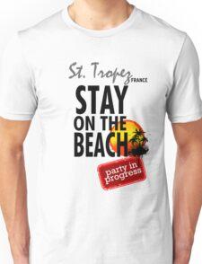Stay On The Beach, St. Thomas Unisex T-Shirt