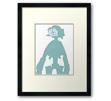 Canti - Monochrome Framed Print