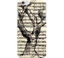 Handel Water Music Tree #3 iPhone Case/Skin