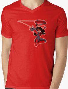 Quantic Ladybug Mens V-Neck T-Shirt