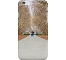 Couple in Crepe Myrtles iPhone Case/Skin