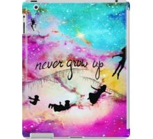 Never Grow Up Peter Pan Nebula iPad Case/Skin