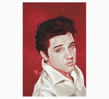 """Elvis Presley """"the King of Rock and Roll"""" Baby Tee"""