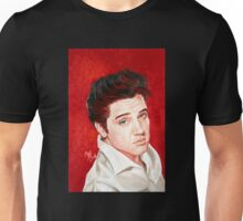 "Elvis Presley ""the King of Rock and Roll"" Unisex T-Shirt"