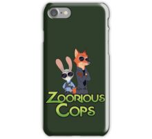 Zoorious Cops (Serious Cops) iPhone Case/Skin