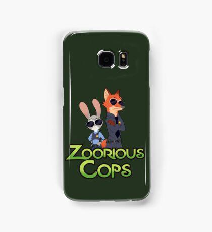 Zoorious Cops (Serious Cops) Samsung Galaxy Case/Skin