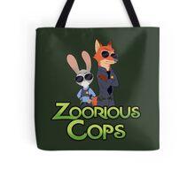 Zoorious Cops (Serious Cops) Tote Bag