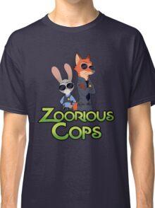 Zoorious Cops (Serious Cops) Classic T-Shirt