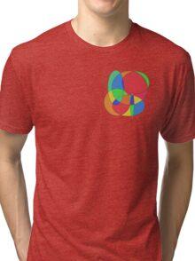 Geometric patterns Tri-blend T-Shirt