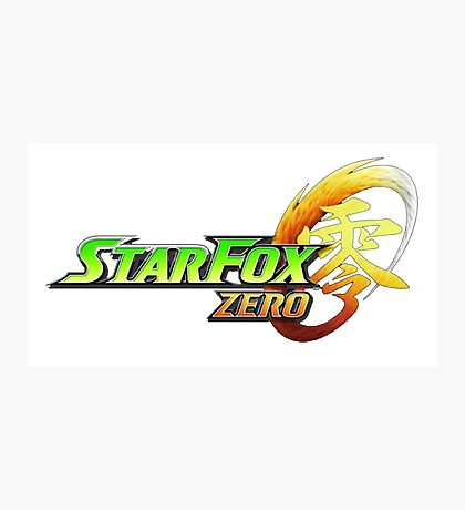 star fox zero Photographic Print