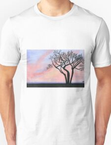 Sunset - Watercolor Painting Unisex T-Shirt
