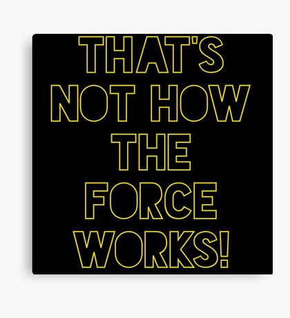 Star Wars Quote Han Solo Canvas Print