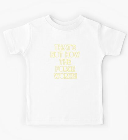 Star Wars Quote Han Solo Kids Tee