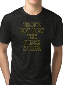 Star Wars Quote Han Solo Tri-blend T-Shirt